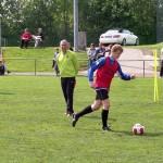 Übung mit dem Ball