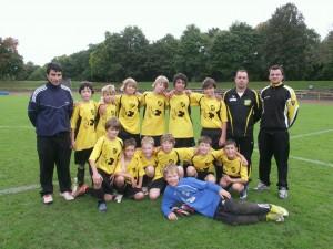 D2-Mannschaft Saison 2010/2011